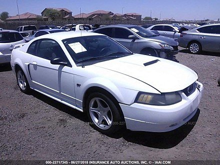 2001 ford Mustang GT Coupe for sale 101016049