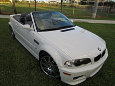 2002 BMW M3 Convertible for sale 101056905