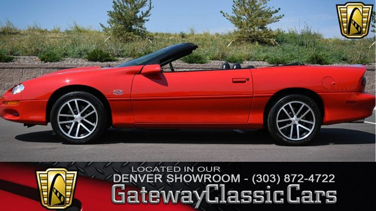 2002 Chevrolet Camaro Z28 Convertible for sale 100905154