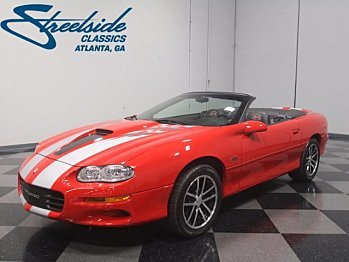 2002 Chevrolet Camaro Z28 Convertible for sale 100945547