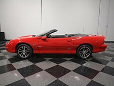 2002 Chevrolet Camaro Z28 Convertible for sale 100957179
