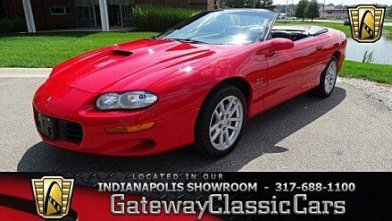 2002 Chevrolet Camaro Z28 Convertible for sale 101025710
