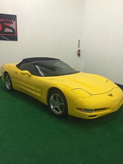 2002 Chevrolet Corvette for sale 100729569