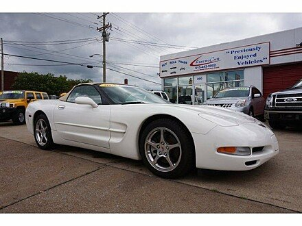 2002 Chevrolet Corvette Convertible for sale 100767753