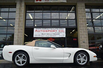 2002 Chevrolet Corvette Convertible for sale 100783198