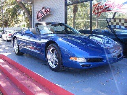 2002 Chevrolet Corvette Convertible for sale 100848209