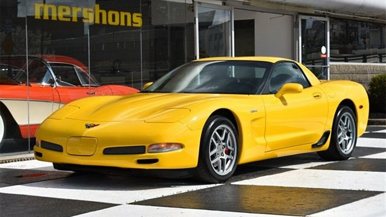 2002 Chevrolet Corvette Z06 Coupe for sale 100977795