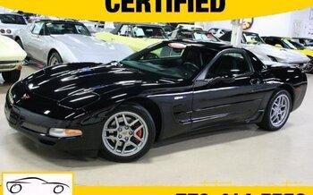 2002 Chevrolet Corvette Z06 Coupe for sale 100891861
