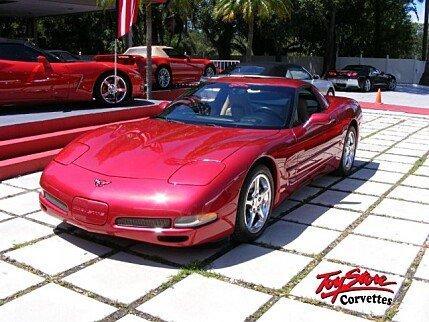 2002 Chevrolet Corvette Coupe for sale 100895389
