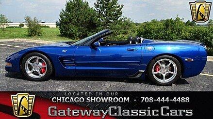 2002 Chevrolet Corvette Convertible for sale 100920178