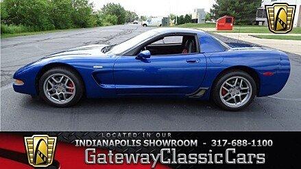 2002 Chevrolet Corvette Z06 Coupe for sale 100948422