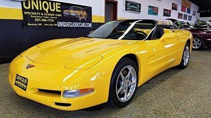 2002 Chevrolet Corvette Convertible for sale 100969392