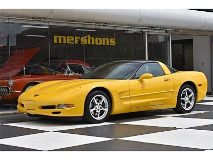 2002 Chevrolet Corvette Coupe for sale 100986208
