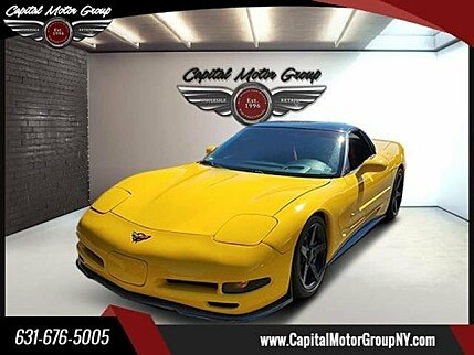 2002 Chevrolet Corvette Coupe for sale 101002981