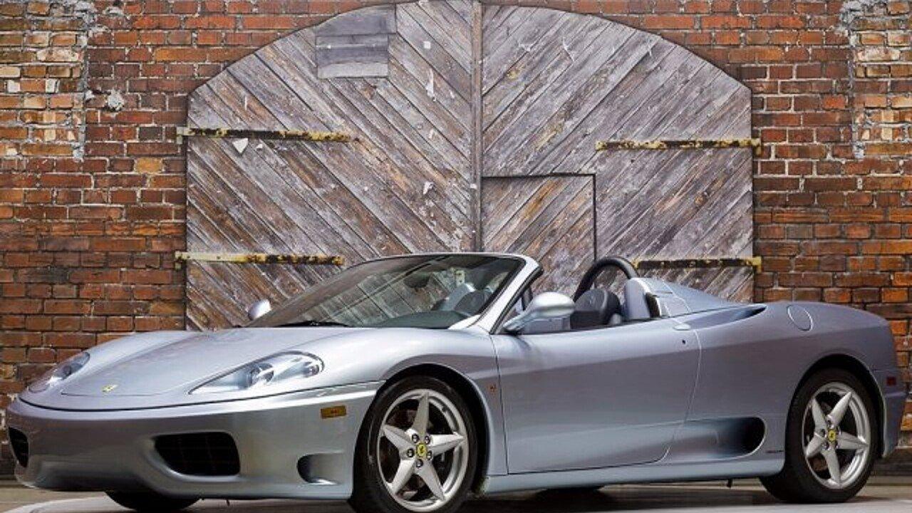 2002 Ferrari 360 Spider for sale 100917362
