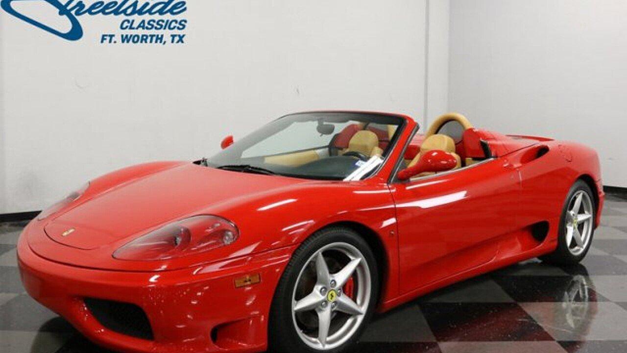 2002 Ferrari 360 for sale near Fort Worth, Texas 76137 - Classics on ...