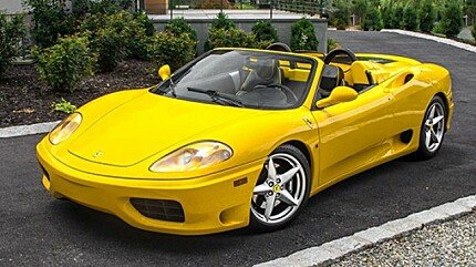 2002 Ferrari 360 Spider for sale 100891295