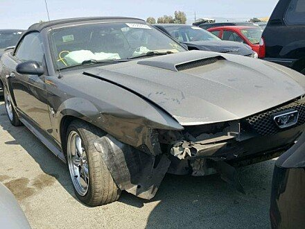 2002 Ford Mustang Convertible for sale 101010727