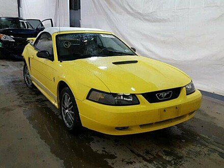 2002 Ford Mustang Convertible for sale 101045379
