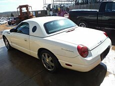 2002 Ford Thunderbird for sale 100749860