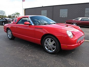 2002 Ford Thunderbird for sale 100770587