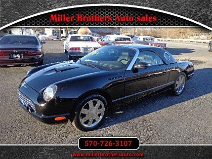2002 Ford Thunderbird for sale 100853440