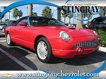 2002 Ford Thunderbird for sale 100890621