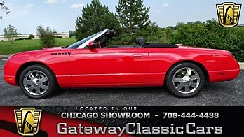 2002 Ford Thunderbird for sale 100920309