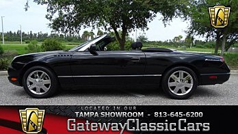 2002 Ford Thunderbird for sale 100963513