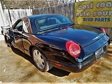 2002 Ford Thunderbird for sale 100749723