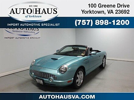 2002 Ford Thunderbird for sale 100944007