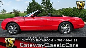 2002 Ford Thunderbird for sale 100963508