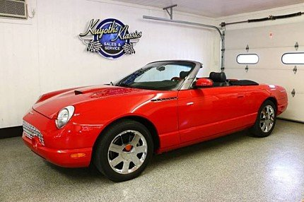 2002 Ford Thunderbird for sale 100986517