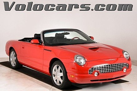 2002 Ford Thunderbird for sale 101031421