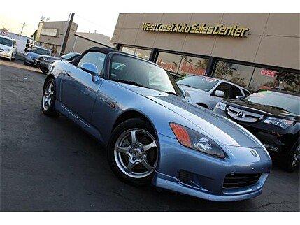 2002 Honda S2000 for sale 100915156