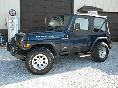 2002 Jeep Wrangler for sale 100727640
