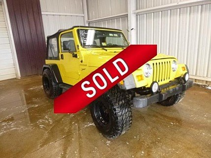 2002 Jeep Wrangler 4WD Sport for sale 100973055