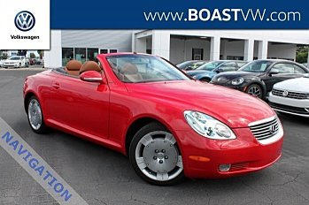 2002 Lexus SC 430 Convertible for sale 101025053