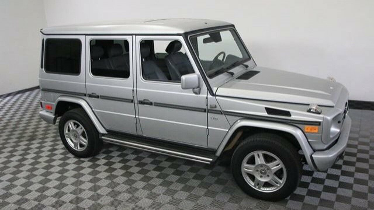 2002 mercedes benz g500 for sale 100888406