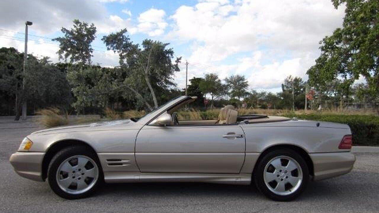 2002 Mercedes Benz Sl500 For Sale Near Delray Beach