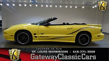 2002 Pontiac Firebird Trans Am Convertible for sale 100842596