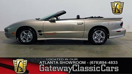 2002 Pontiac Firebird Trans Am Convertible for sale 100921052