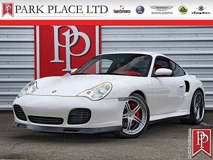 2002 Porsche 911 Turbo Coupe for sale 100962148