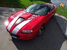 2002 chevrolet Camaro Z28 Convertible for sale 101034917