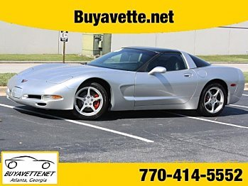 2002 chevrolet Corvette Coupe for sale 100821502