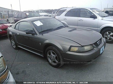 2002 ford Mustang Coupe for sale 101016012