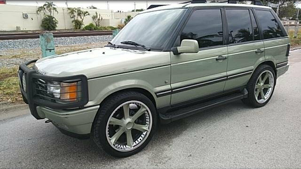 2002 land-rover Range Rover HSE for sale 100962430