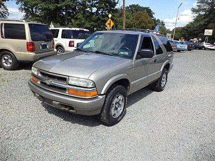 2003 Chevrolet Blazer 4WD 2-Door for sale 100898651