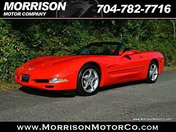 2003 Chevrolet Corvette Convertible for sale 100799053