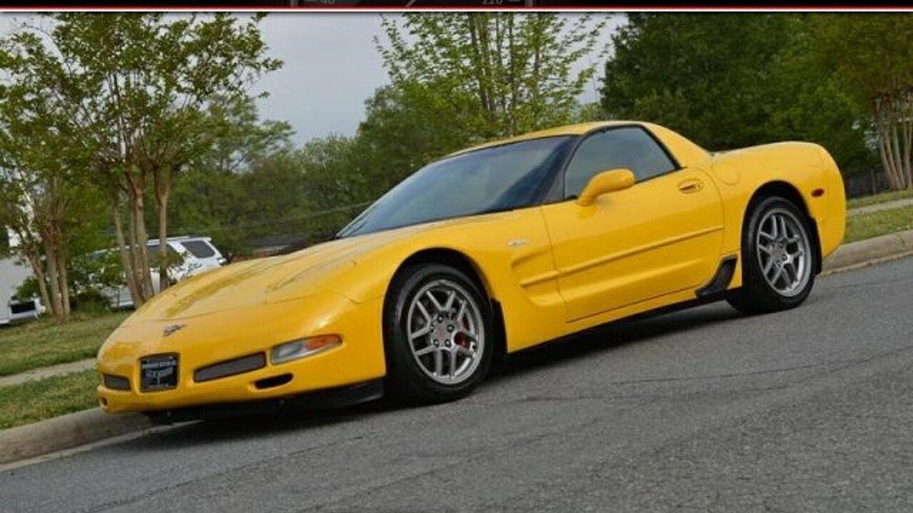 2003 Chevrolet Corvette Z06 Coupe for sale 100940468